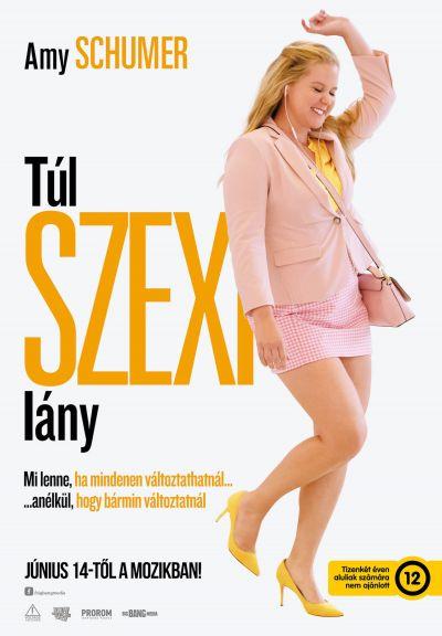Túl szexi lány – Plakát