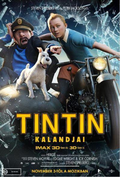Tintin kalandjai – Plakát