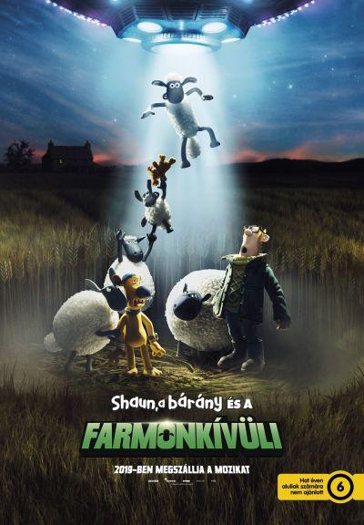 Shaun, a bárány és a farmonkívüli – Plakát