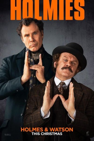 Holmes and Watson – Plakát