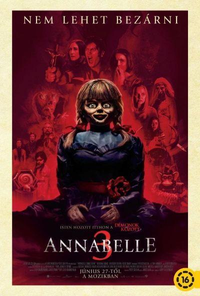 Annabelle 3. – Plakát