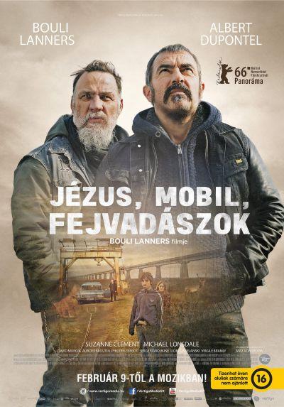 Jézus, mobil, fejvadászok – Plakát
