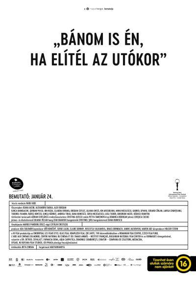 Bánom is én, ha elítél az utókor – Plakát