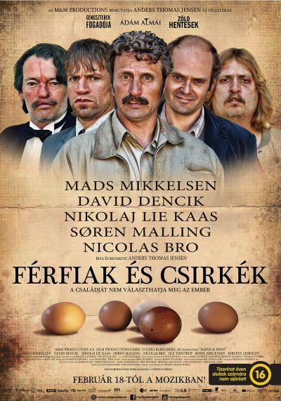 Férfiak és csirkék – Plakát