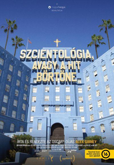 Szcientológia, avagy a hit börtöne – Plakát