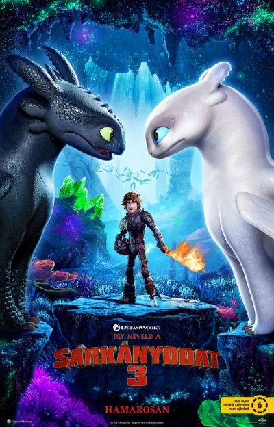 Így neveld a sárkányodat 3. – Plakát