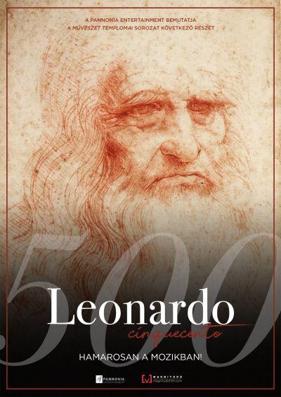 A művészet templomai: Leonardo 500 – Plakát