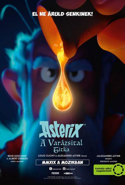 Asterix: A varázsital titka – Plakát