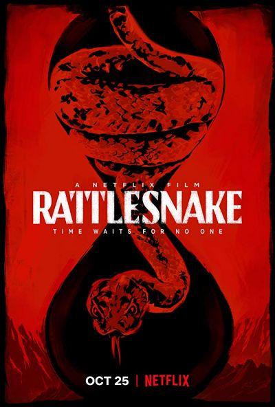 A csörgőkígyó – Plakát