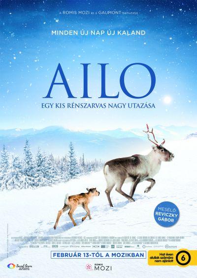 Ailo - Egy kis rénszarvas nagy utazása – Plakát