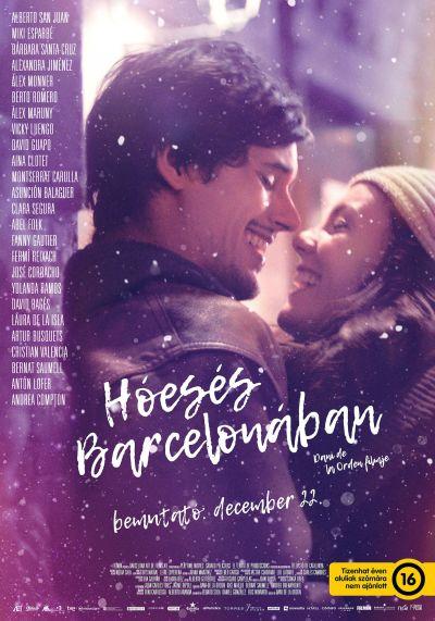 Hóesés Barcelonában – Plakát