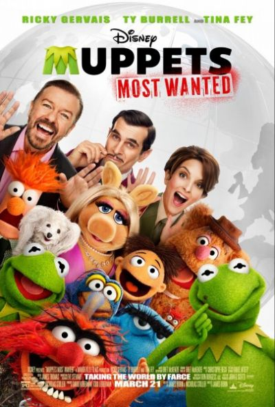 Muppets Most Wanted – Plakát