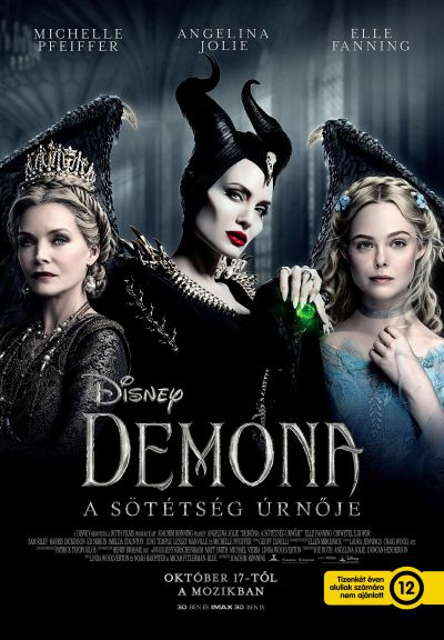 Demóna: A sötétség úrnője – Plakát