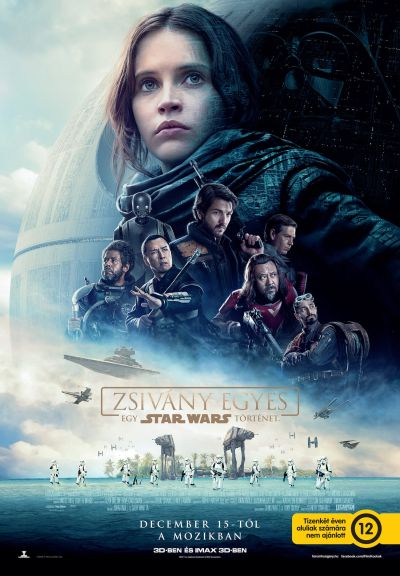 Zsivány Egyes: Egy Star Wars történet – Plakát