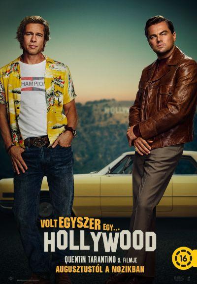 Volt egyszer egy Hollywood – Plakát