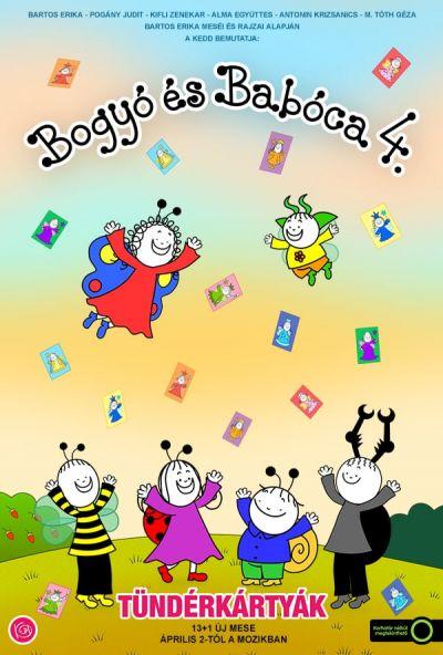 Bogyó és Babóca 4. - Tündérkártyák – Plakát