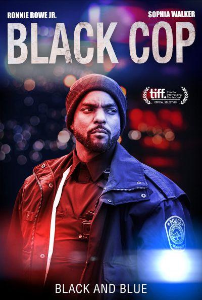 Fekete zsaru – Plakát