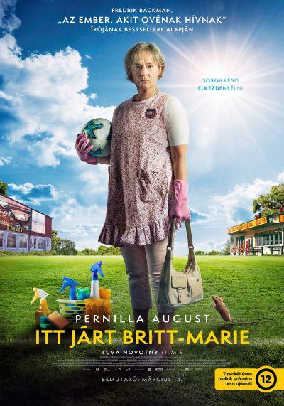 Itt járt Britt-Marie – Plakát