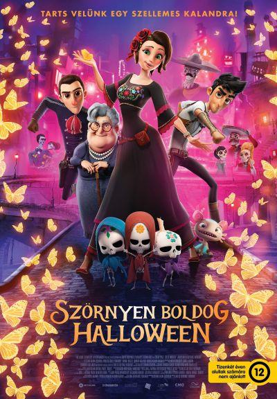 Szörnyen boldog Halloween – Plakát
