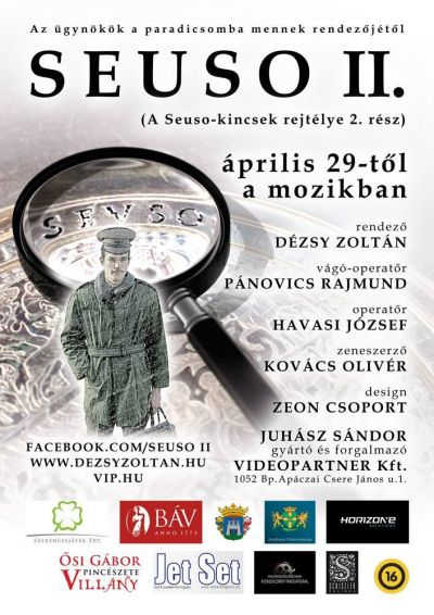 Seuso 2 - A Seuso kincsek rejtélye folytatódik – Plakát
