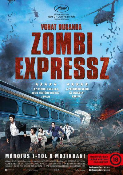 Vonat Busanba - Zombi expressz – Plakát