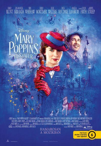 Mary Poppins visszatér – Plakát