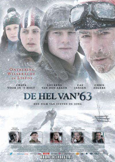 A jeges pokol – Plakát