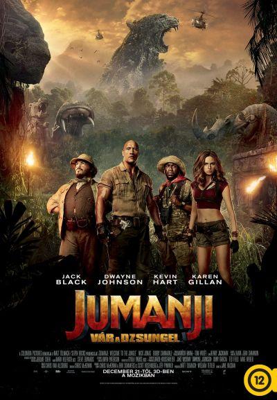 Jumanji - Vár a dzsungel – Plakát
