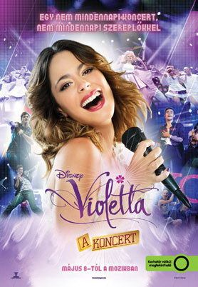 Violetta - A koncert – Plakát
