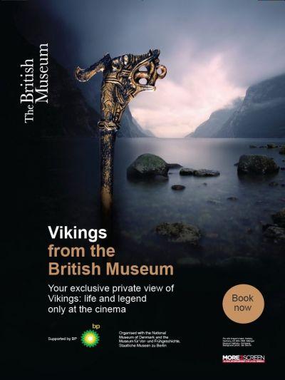 Vikingek nyomában - tárlatvezetés a British Múzeumból – Plakát