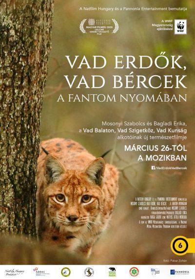 Vad erdők, vad bércek - A fantom nyomában – Plakát