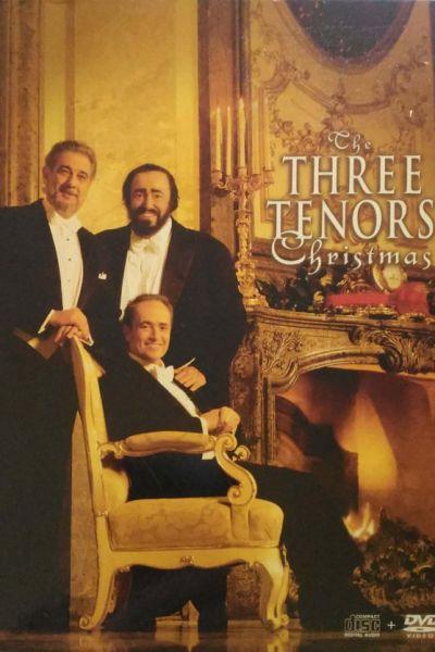 A Három Tenor karácsonyi koncert - Bécs, 1999 – Plakát
