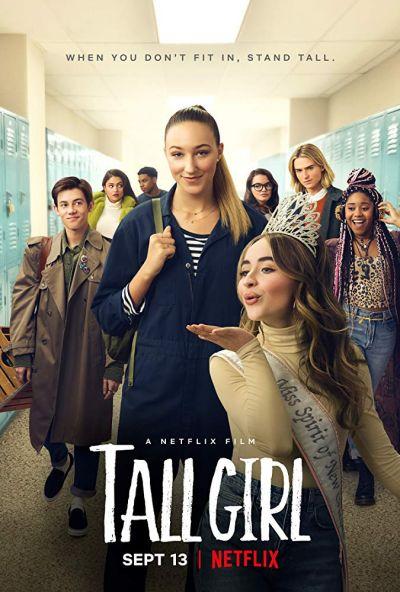 A magas lány – Plakát