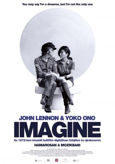 John Lennon és Yoko Ono: Imagine – Plakát