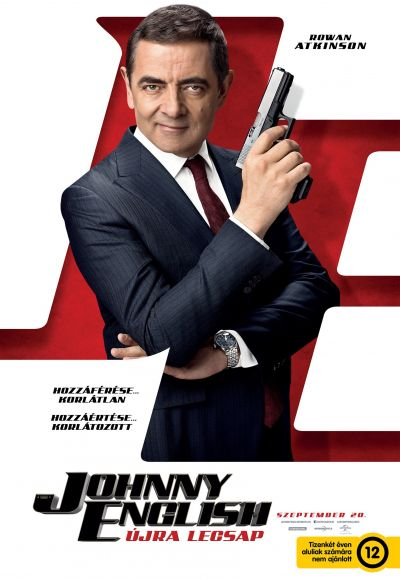 Johnny English újra lecsap – Plakát