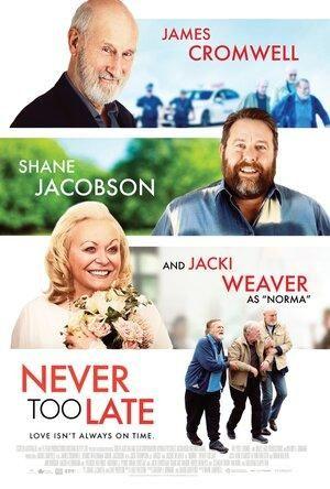 Never Too Late – Plakát