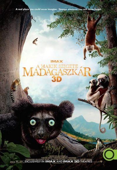 A makik szigete: Madagaszkár – Plakát