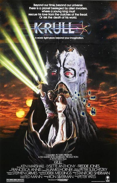 Támadás a Krull bolygó ellen – Plakát
