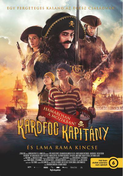 Kardfog kapitány és a Lama Rama kincse – Plakát