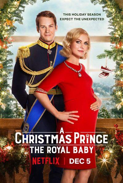 Egy herceg karácsonyra: A királyi bébi – Plakát