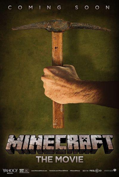 Minecraft - A film – Plakát