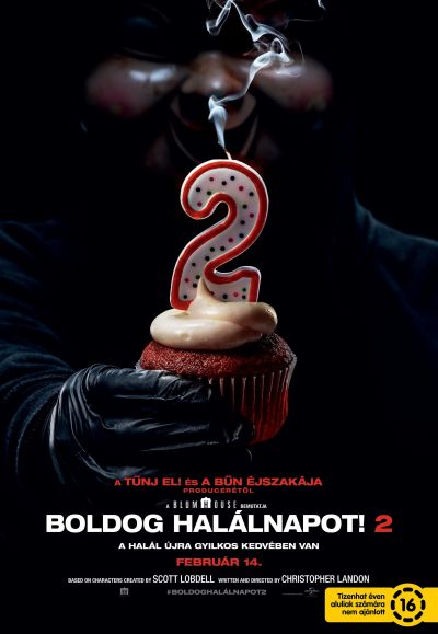 Boldog halálnapot! 2 – Plakát