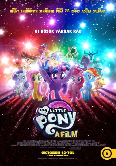 My Little Pony - A film – Plakát