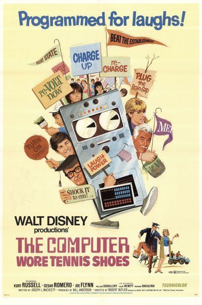 Komputer teniszcipőben – Plakát