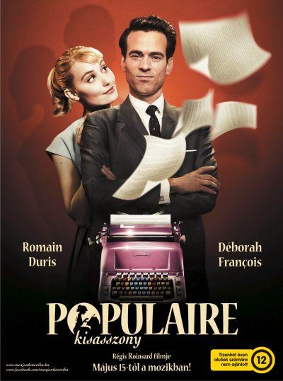 Populaire kisasszony – Plakát