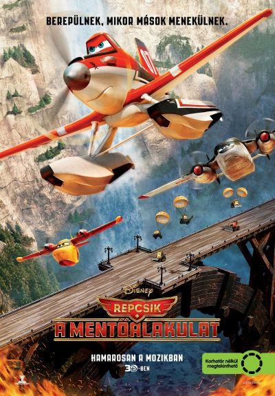 Repcsik: A mentőalakulat – Plakát
