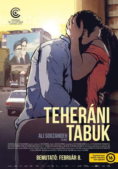 Teheráni tabuk – Plakát