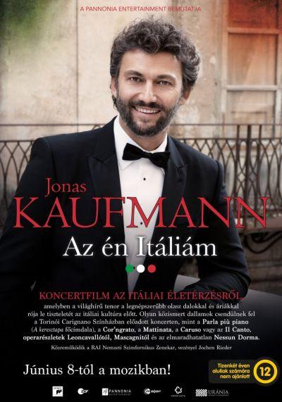 Jonas Kaufmann: Az én Itáliám – Plakát