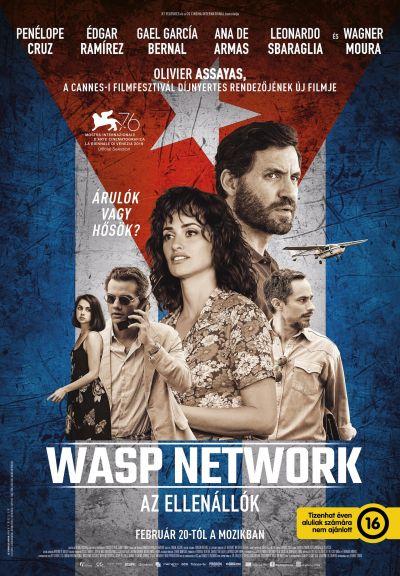 Wasp Network – Az ellenállók – Plakát