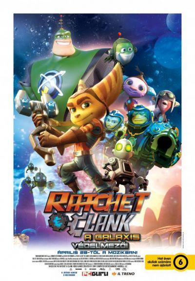 Ratchet és Clank - A galaxis védelmezői – Plakát